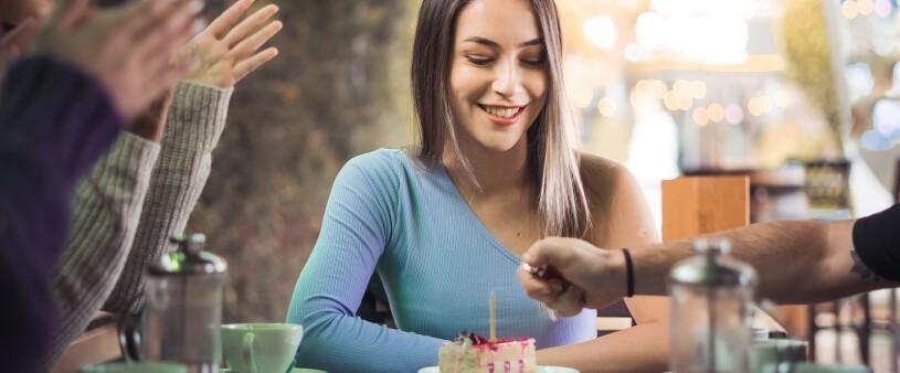 Impreza urodzinowa w restauracji